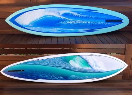 Surfboard Murals